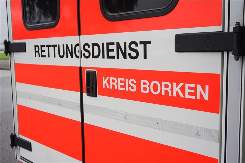 87 Jährige Bei Unfall In Bahnhof Reken Verletzt