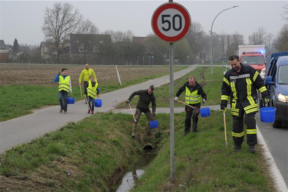 150 Teilnehmer sammeln Müll und Unrat ein