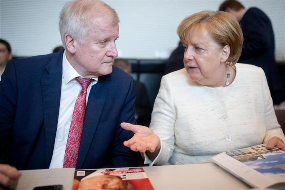 Merkel Seehofer
