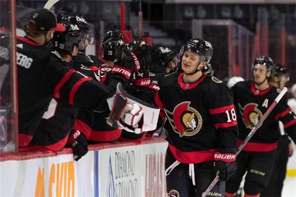 Eishockey-Talent Stützle trifft spektakulär in der NHL